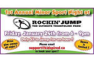 Minor Sport Night at Rockin' Jump @ Rockin' Jump